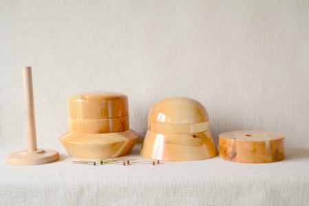 Deluxe Cloche Hat Block Set