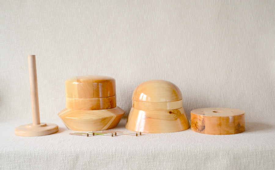 how to make a wooden hat block
