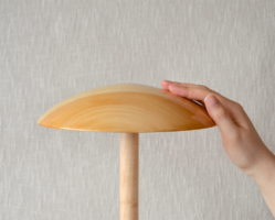 Marilyn - wooden saucer hat block
